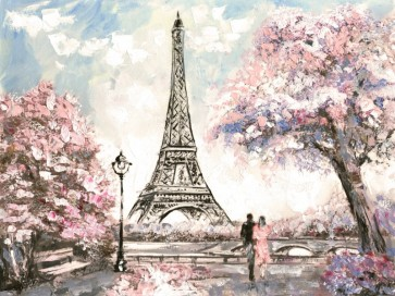 Arthur Heard - Paris View - Eiffel Tower I - Pink
