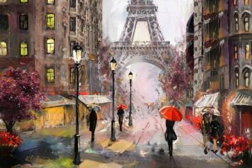 Arthur Heard - Paris View - Eiffel Tower IV - Red
