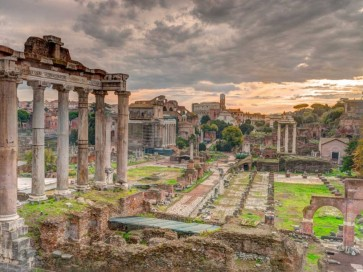 Assaf Frank - Ruins of the Roman Forum, Rome, Italy