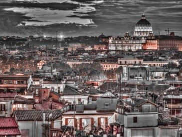 Assaf Frank - Vatican city with St. Peters Basilica, Rome, Italy