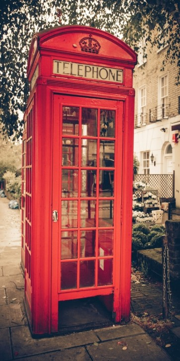 Rachel McGreen - Vintage Telephone Booth