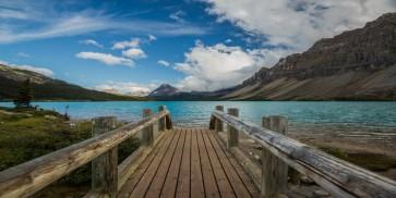 Sami Swat - Bow Lake Bridge, Alberta