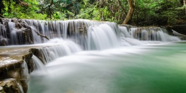 Ren?e Pehr - Waterfall, In forest of Kanchanaburi, Thailand