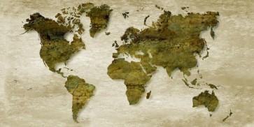 Imrich Edvard - Vintage World Mapp