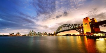 Isabel Lord - Panorama of Sydney Harbour, Australia