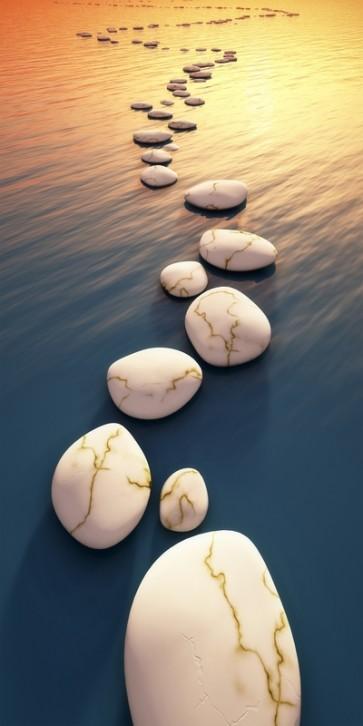 Omar Olavie - Sunset on Zen Stones