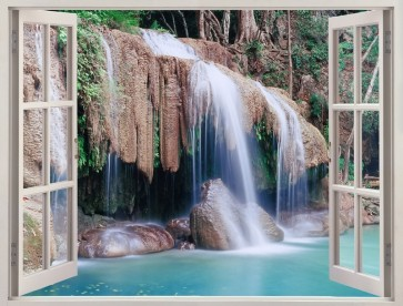 Nicolina Naiara - Window view of Erawan Falls