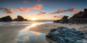 Evan Gross - Sunset at Porthcothan