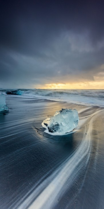 Jason Carlson - Sunrisre At Jokulsarlon, Iceland