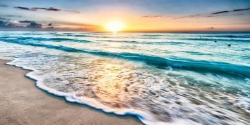 Dave Fowler - Sunrise Over Beach, Cacun