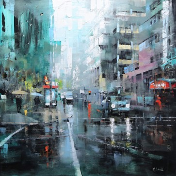 Mark Lague - Montreal Turquoise Rain