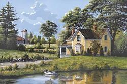 Bill Saunders - Yellow House