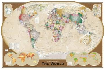 World - Map - Tripel