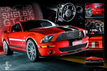Ford Mustang - Easton Red