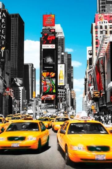 New York - yellow cabs