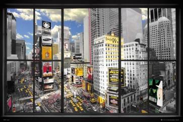 New York Window View 2
