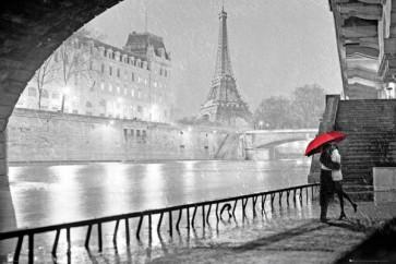 Paris - Love B&W