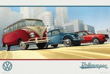 VW Camper Illustration