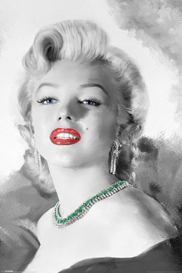 Marilyn Monroe - Diamond Are