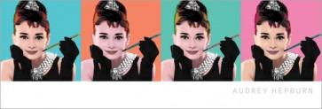 Audrey Hepburn - Ah Pop Art