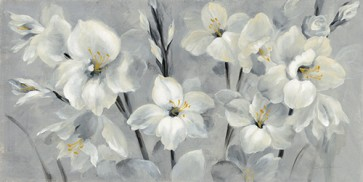 Silvia Vassileva - Flowers On Grey