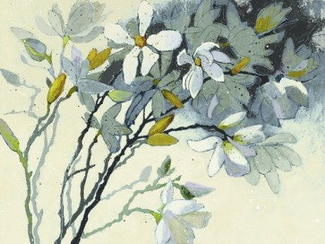 Shirley Novak - Magnolia Yellow Gray