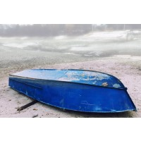 Beach - Blue Boat