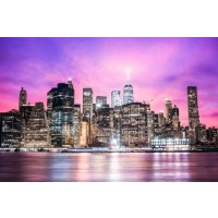 Cesar Burke - New York - Purple Sunset