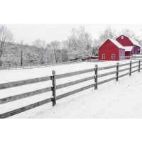 Barn - Red - No Work For Today