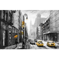 Arthur Heard - New York - Yellow Taxi