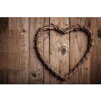 Heart - Wooden Love II