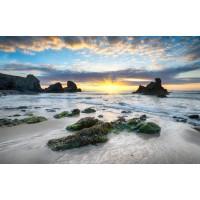 Beach - Rocky Sunset I