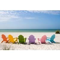 Beach - Rainbow Chairs