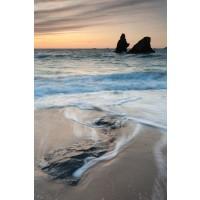 Beach - Rocky Sunset III
