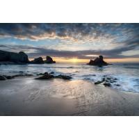 Beach - Rocky Sunset IV