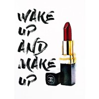 Amanda Greenwood - Wakeup Makeup Lipstick Red