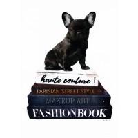 Amanda Greenwood - Bookstack Frenchie