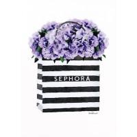 Amanda Greenwood - Bag with Purple Hydrangea