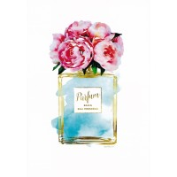 Amanda Greenwood - Parfume Teal with Peony