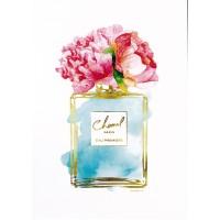 Amanda Greenwood - Silver Perfume and Flowers VII