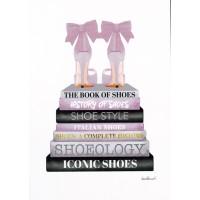Amanda Greenwood - Lavender Bookstack Shoe