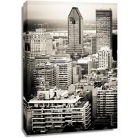 Cheryl McKenny - Vintage Montreal Skyline