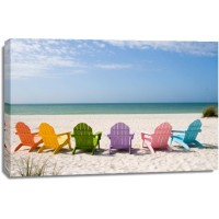 Beach - Rainbow Chairs