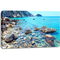 Ann Gavril - Exotic Caribbean Coast With Rocks