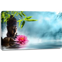 Darija Mile - Calm Buddha With Flower