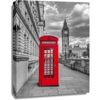 Assaf Frank - Telephone booth with Big Ben, London, UK, FTBR-1809