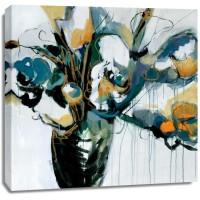 Angela Maritz - Blooms in Shamrock Grey