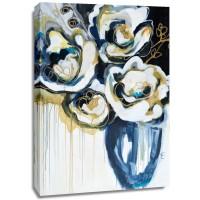 Angela Maritz - Blooms In Sea Foam