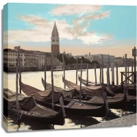 Alan Blaustein - Campanile Vista with Gondolas - 1