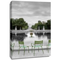 Alan Blaustein - Tuileries Fountain #1
